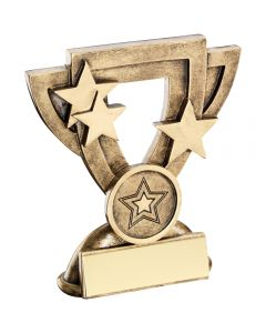 Generic Mini Cup Trophy With Star Insert